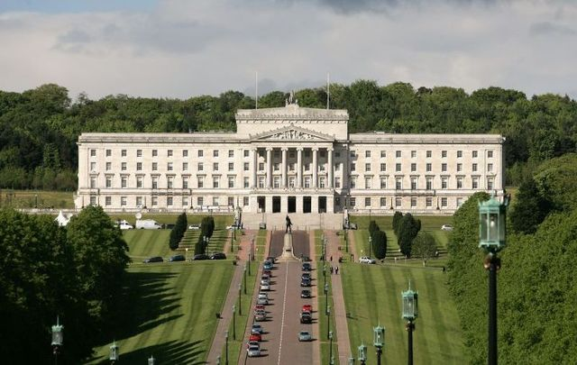 Stormont in Belfast, Northern Ireland.