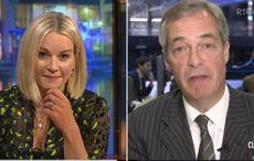 WATCH: Irish journalist spectacularly challenges Nigel Farage