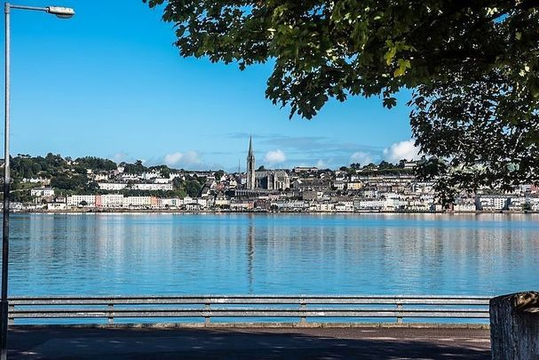 The beautiful town of Cobh, in County Cork.