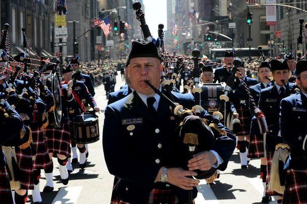 New York City\'s St. Patrick\'s Day parade.