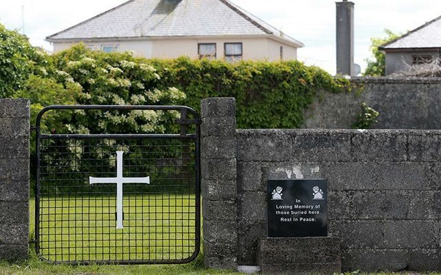 The site of the former Tuam Mother and Baby Home in Co Galway.