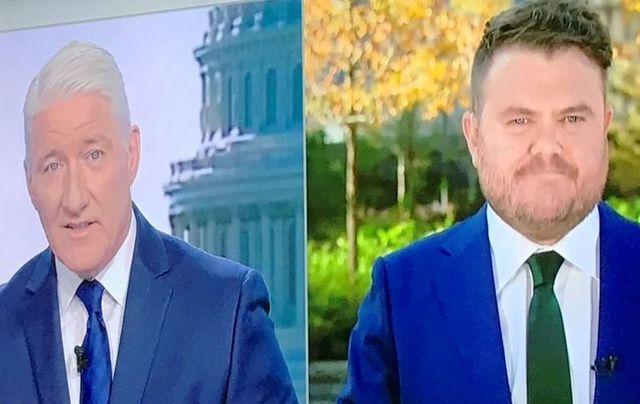John King and Donie O\'Sullivan on CNN in November 2020.