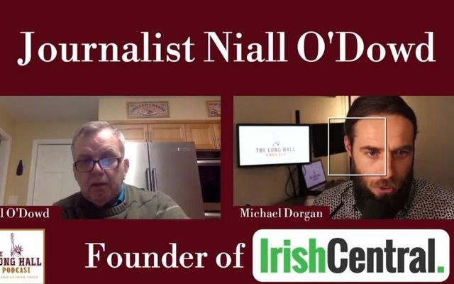 Niall O\'Dowd spoke to Michael Dorgan of the Long Hall Podcast.