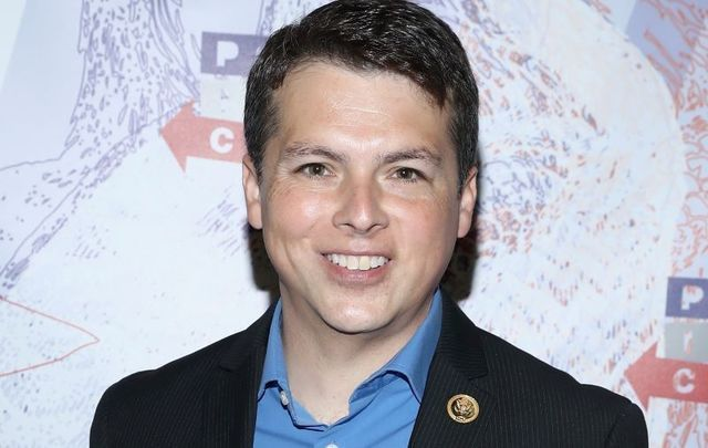 Representative Brendan Boyle, pictured at Politicon 2018 at Los Angeles Convention Center on October 20, 2018.