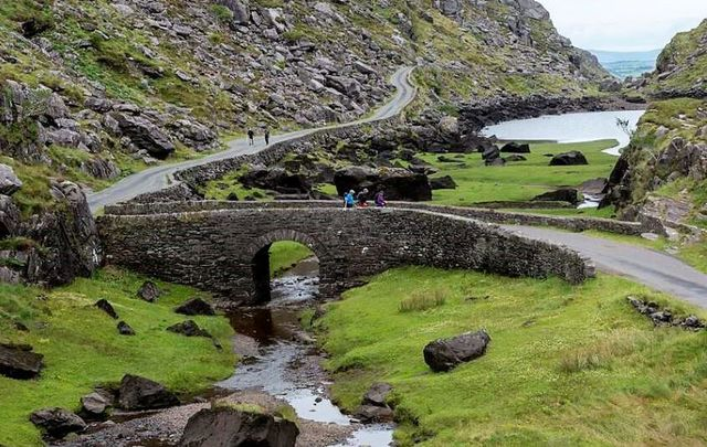 The Gap of Dunloe on the Ring of Kerry.