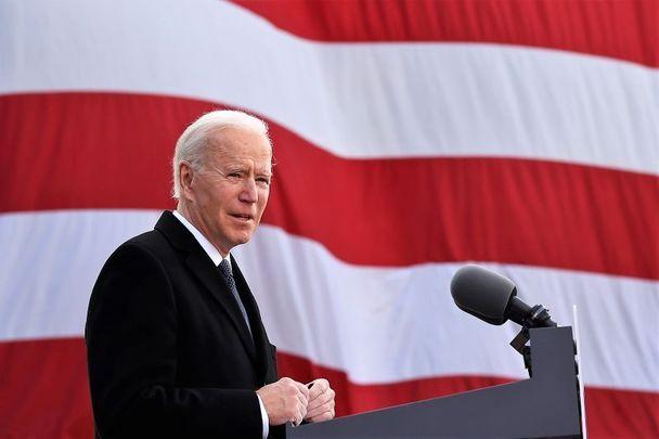 President Joe Biden, the Irish Catholic Senator, whose path has often crossed with the Kennedys.