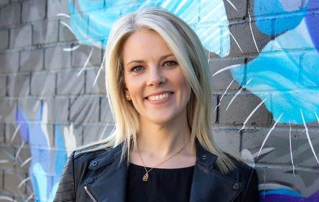 """Sarah Crossan, author of \""""Here is the Beehive.\"""""""