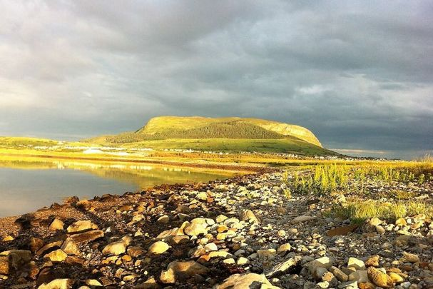 View of Knocknarea from Kilaspogbrone, Strandhill, Co Sligo