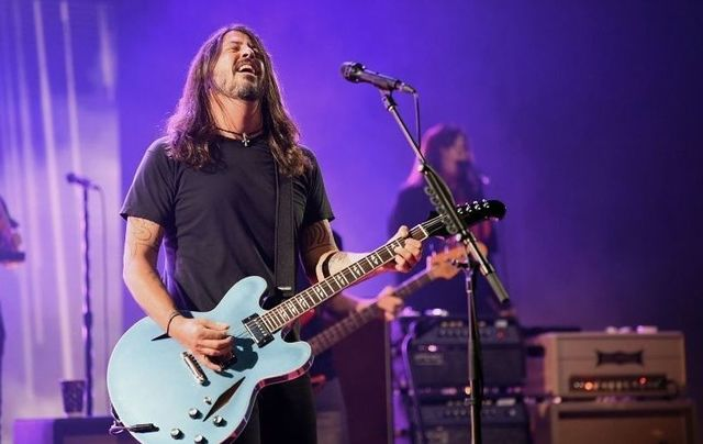 Dave Grohl first played in Ireland with Nirvana in 1991.