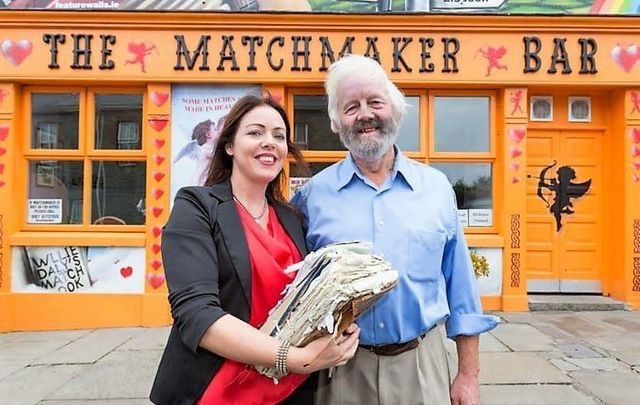 ""\""""Love in Lockdown"""" with Willie and Elsha Daly, father and daughter Matchmakers.""640|405|?|en|2|d8917fd7ff7ca6d040c14428e960f216|False|UNLIKELY|0.2952457070350647