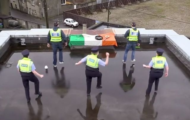 The #Jersualema video from Ireland\'s national police force has gone viral.