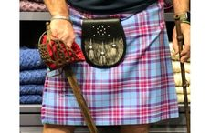 Donegal Square's Hope for Life tartan raises funds for cancer research