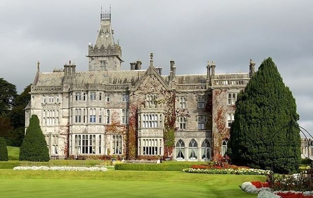 Adare Manor in Co Limerick has been named one of the most romantic hotels in the world.