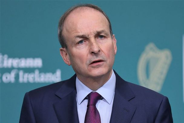 Taoiseach Micheal Martin, pictured here on January 6, 2021.
