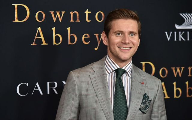 "Irish actor Allen Leech at the ""Downton Abbey\"" New York Premiere in 2019."