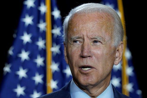 Joe Biden, pictured here in August 2020.