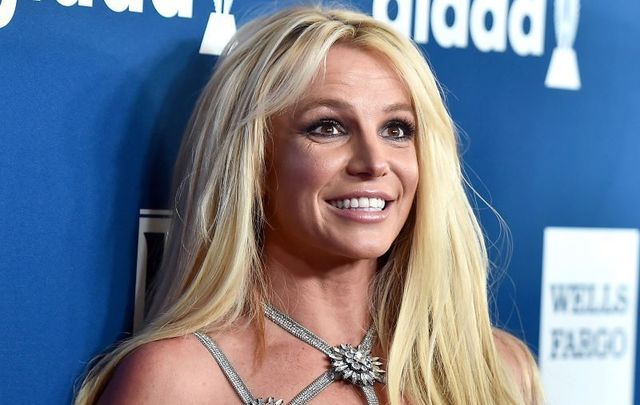 April 12, 2018: Honoree Britney Spears attends the 29th Annual GLAAD Media Awards at The Beverly Hilton Hotel in Beverly Hills, California.
