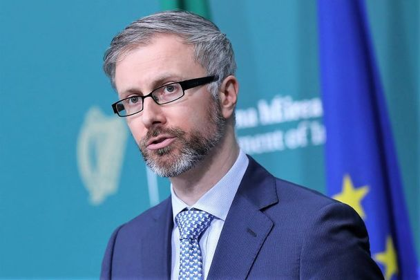 Roderic O\'Gorman, Ireland\'s Minister for Children, Equality, Disability, Integration and Youth.