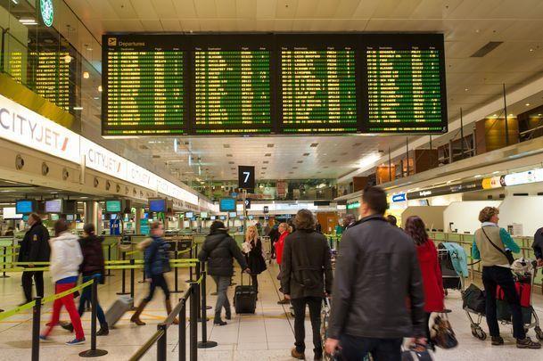 Dublin Airport.