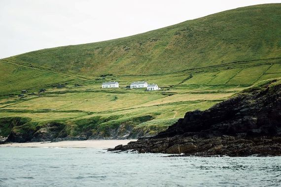 Great Blasket Island has been abandoned since the 1950s.