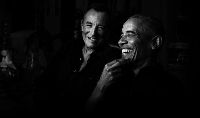 Bruce Springsteen and Barack Obama launch Renegade: Born in the USA on Spotify.