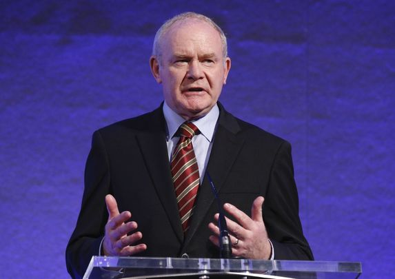 Martin McGuinness, former Irish republican Sinn Féin politician who was the deputy First Minister of Northern Ireland.