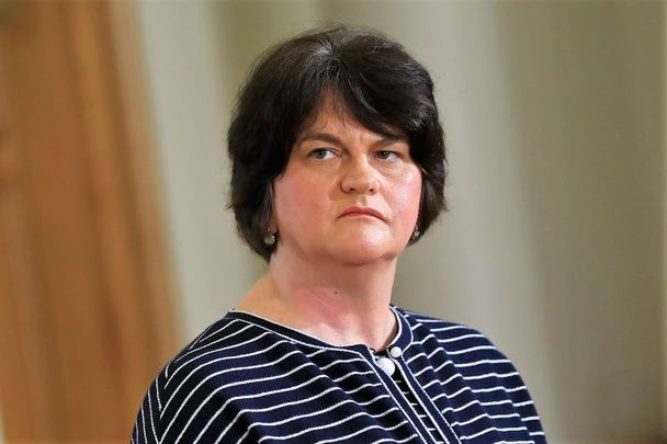 Arlene Foster, head of the DUP and First Minister of Northern Ireland.