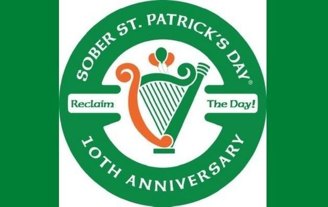 Sober St. Patrick\'s Day® goes virtual on March 17, 2021.