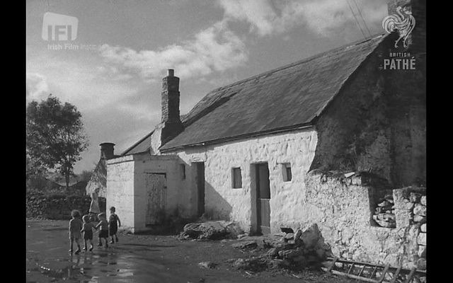 Ennis, Co Clare in 1949.