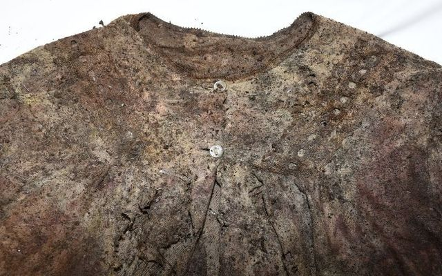 Gardaí hope that this nightdress found at the scene will help identify the remains.