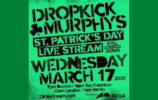 TUNE IN: Dropkick Murphys live stream concert on St. Patrick's Day!