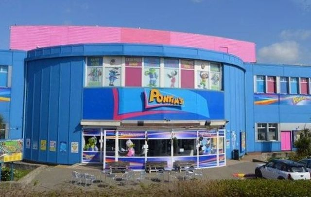 A Pontins holiday park, in Camber Sands, Rye, United Kingdom.