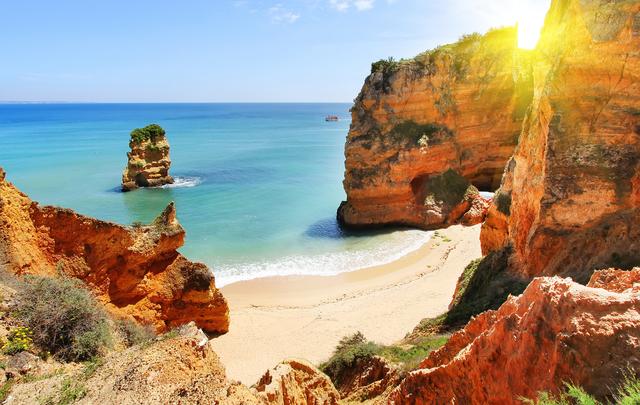 Award-winning beach in the Algarve