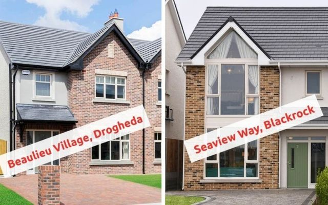 Louth GAA is raffling three-bedroom houses in Dundalk and Drogheda to fund the new stadium.