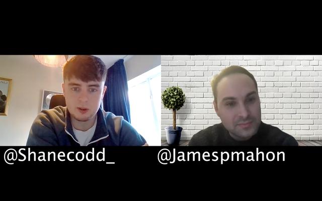 @ShaneCodd_ and @JamespMahon