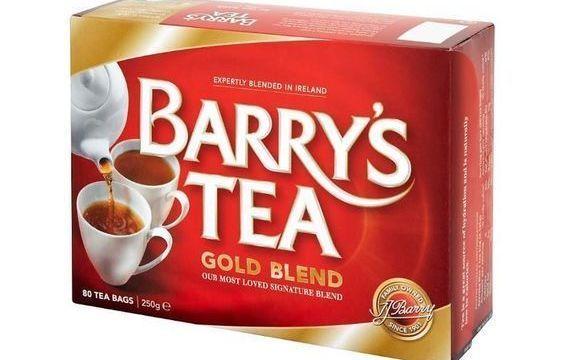 A box of Barry\'s Tea