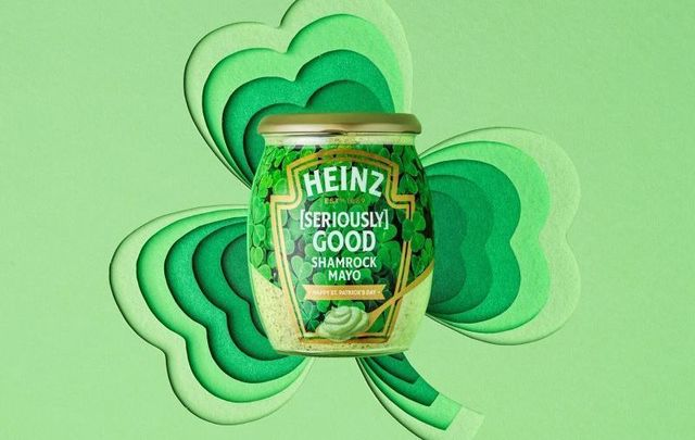 Heinz Ireland has released special-edition [Seriously] Good Shamrock Mayo for St. Patrick\'s Day.