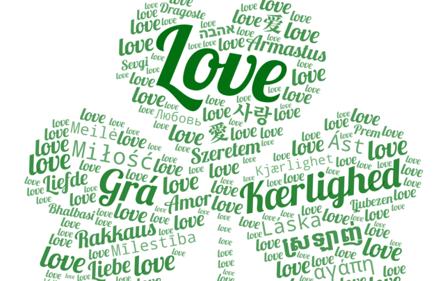 Shamrock Love - let\'s connect our world through charity.