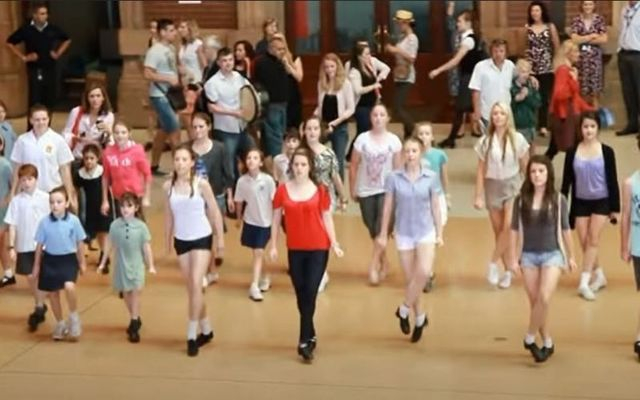 Irish dancers spread some St. Patrick\'s Day cheer at Central Station in Sydney, Australia in 2011.