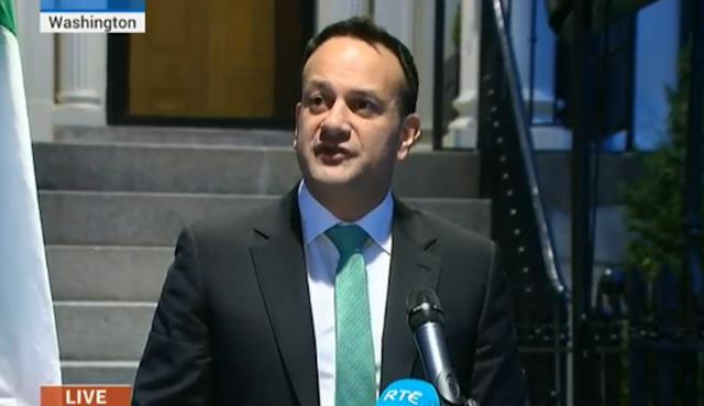 Leo Varadkar addressed the Irish nation on this day last year.