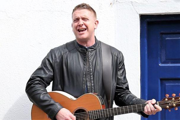 Irish singer-songwriter Damien Dempsey pictured here in 2015.