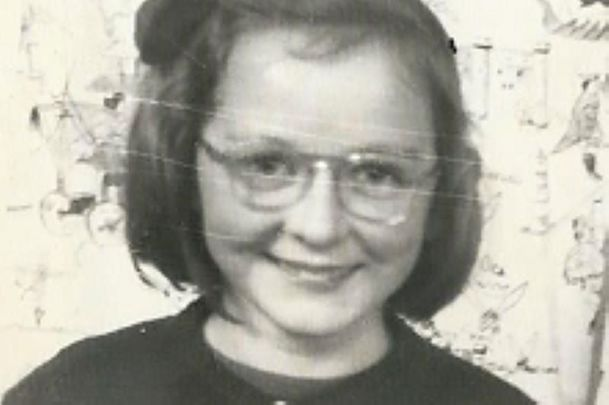 Jean Farrell aged 9 years old.