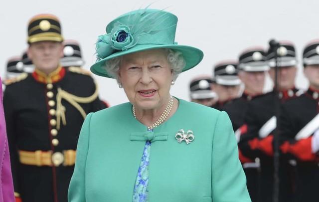 Queen Elizabeth II during her 2011 trip to Ireland.