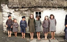 Old Ireland in Colour cover children found in New York, Chicago and Kerry