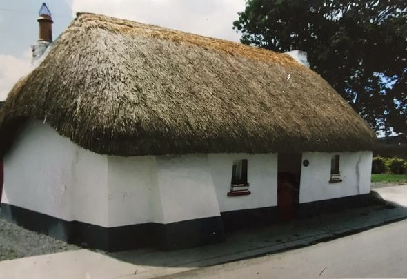 In its former glory Phil Barron\'s House, in Clogh, County Kilkenny.