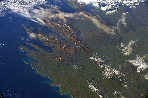 Ireland from outer space!