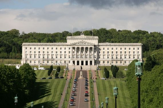 Unionists planned to erect a stone monument at the seat of the Northern Ireland Assembly at Stormont.