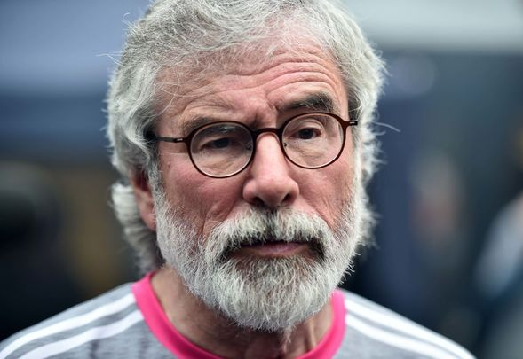Gerry Adams served as Sinn Féin President from 1983 until 2018.