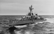 Repair work begins to save the USS The Sullivans