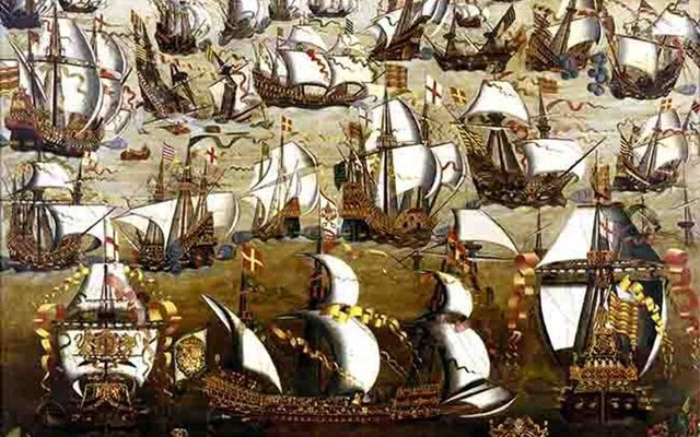 Archaeologists examine whether hundreds of Spanish Armada sailors were buried on a plot of land near Dunluce Castle on the Causeway Coast.